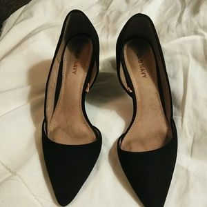 Old Navy pumps like new size 6